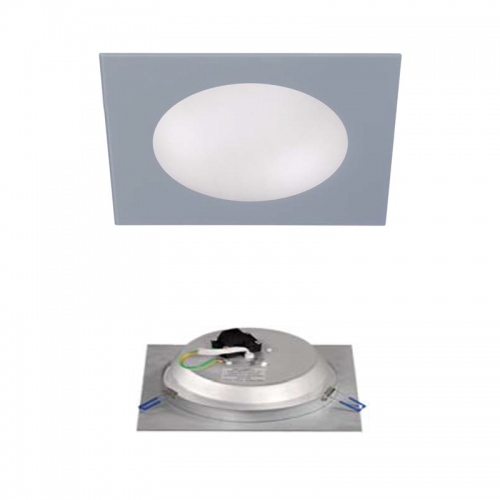 Downlight LED Cristal Gris 18W