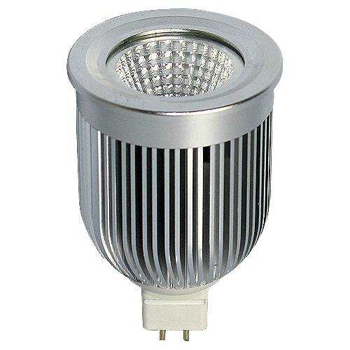 Diacróica Led Mr16 Reflectora COB 7W 230V