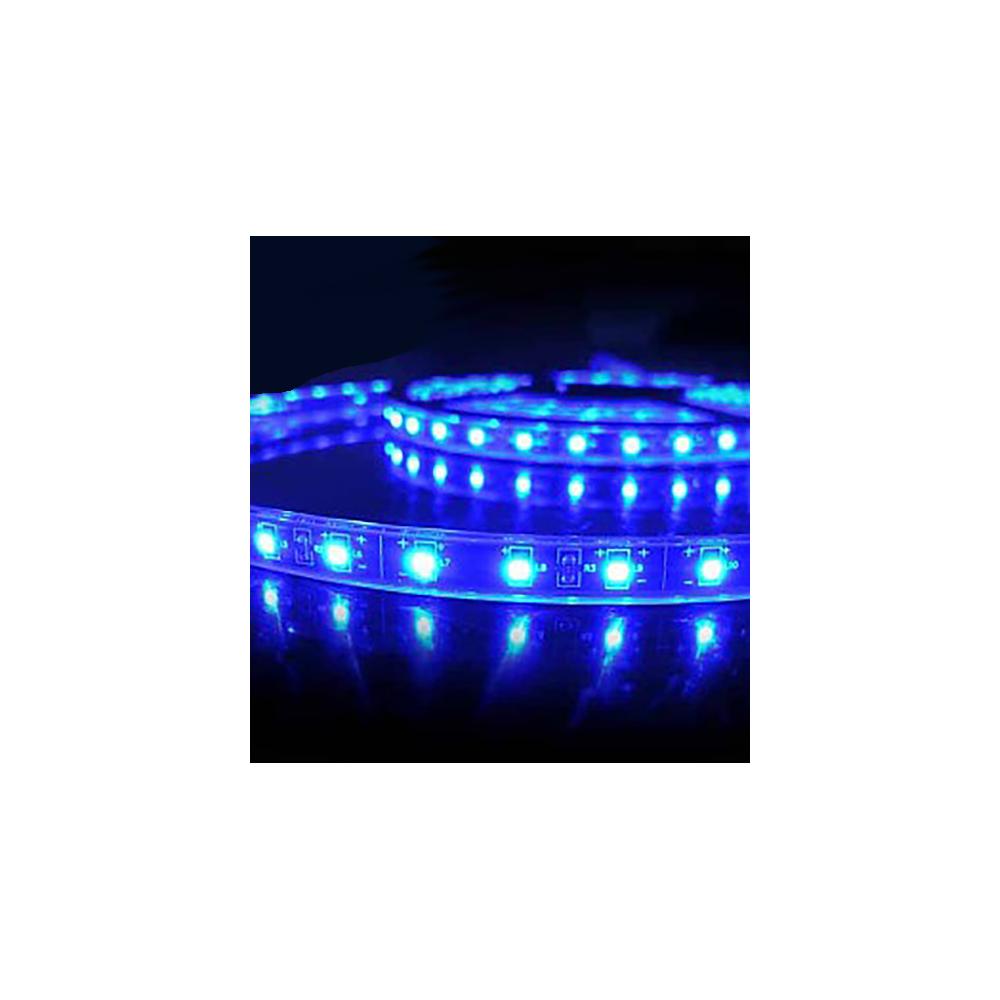 Tira led smd 5730 10 w m azul 230v ip67 5 metros - Tira led 5 metros ...