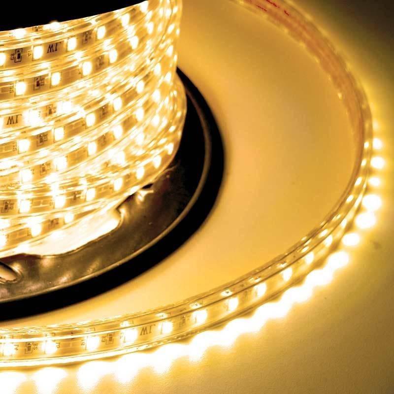 Tira LED SMD 5730 10 W/m 230V IP67 5 metros