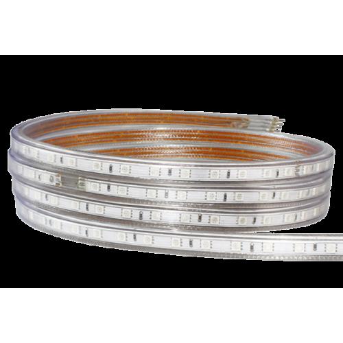 Tira LED RGB 5050 10 W/m 230V IP67 1 metro