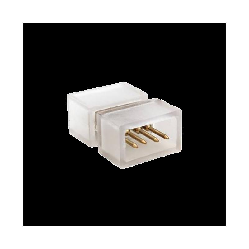 Conector Unión-Empalme tira LED RGB 230V 10W