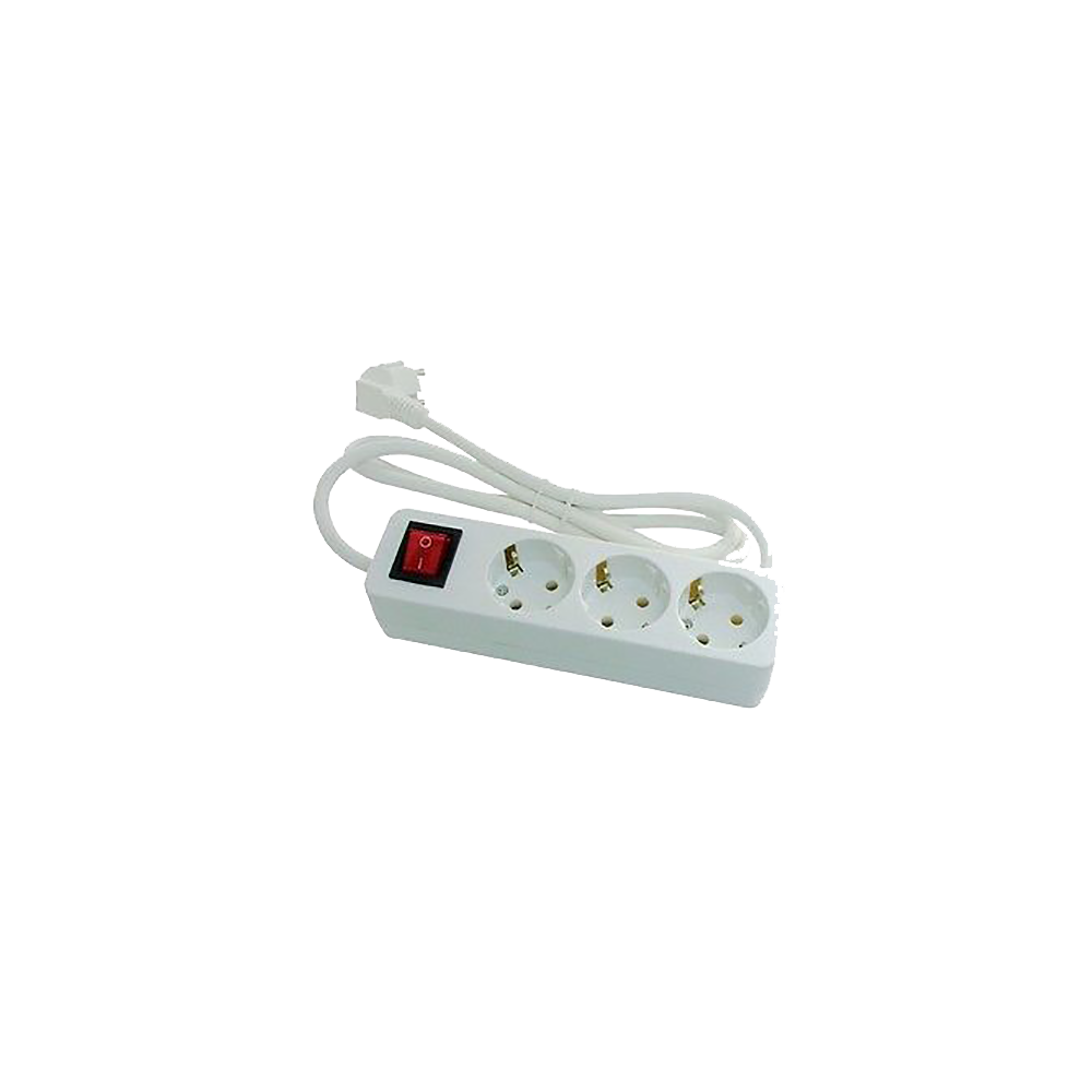 Base multiple 3 enchufes con interruptor - Enchufes con interruptor ...