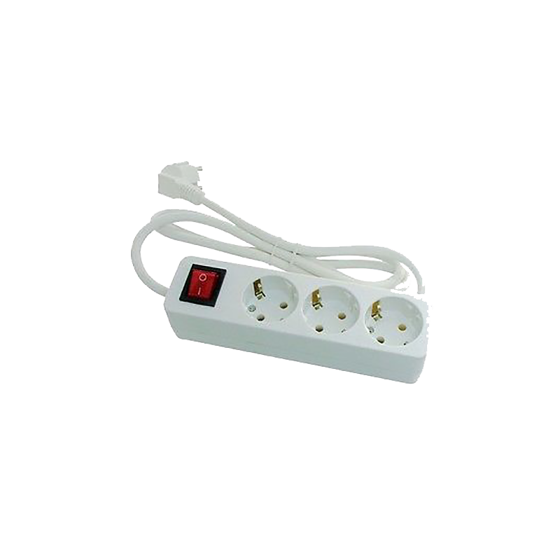 Base 3 enchufes con interruptor - Enchufes con interruptor ...