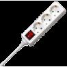 Base multiple 3 Enchufes con Interruptor
