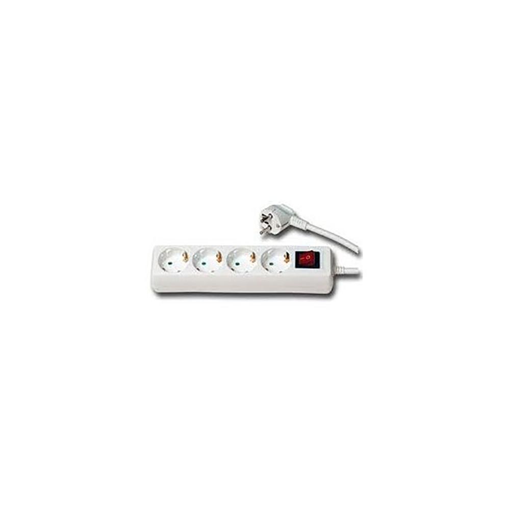 Base multiple 4 enchufes con interruptor - Enchufes con interruptor ...