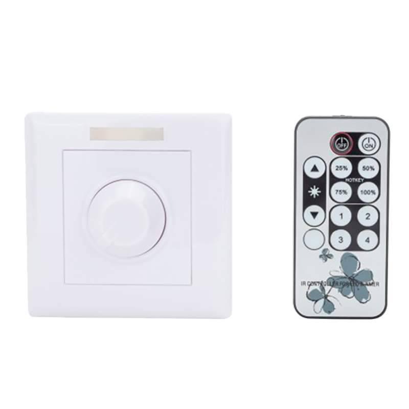 Regulador bombillas led con mando a distancia for Regulador para bombillas led