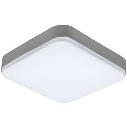 Plafón LED 24W Cuadrado Plata