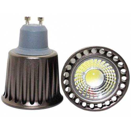 Lote Dicroica GU10 LED Lente COB 5W