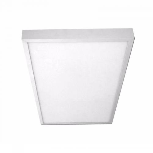Plafón LED superficie Rectangular 24W BLANCO