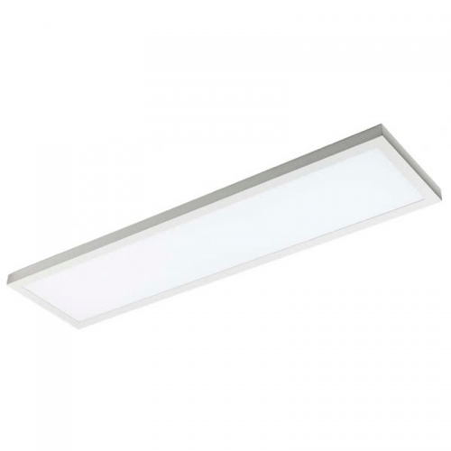 Plafón LED superficie Rectangular 48W Blanco