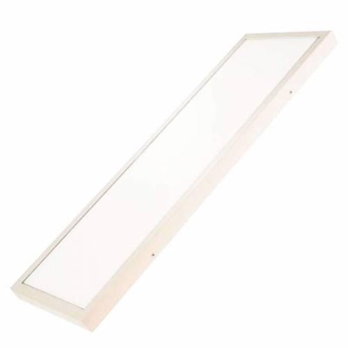 Plafón LED superficie Rectangular 48W Blanco