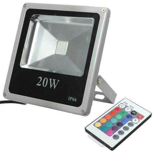 Foco LED RGB Cob 20W 230V