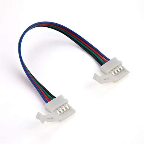 Conector empalme tiras led rgb 15cm for Cortar y empalmar tira led