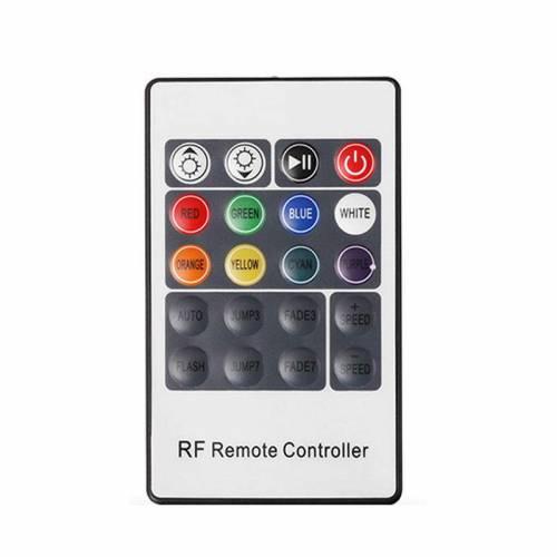 Controlador RGB Radio-Frecuencia 20 teclas 72W