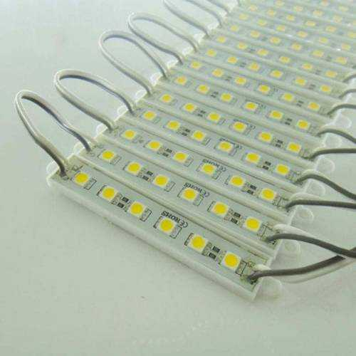 Módulo 6 LED SMD 5050 2W 12V IP65