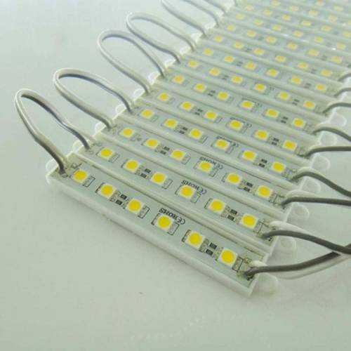 Módulo de 3 LED SMD 5050 0,72W 12V