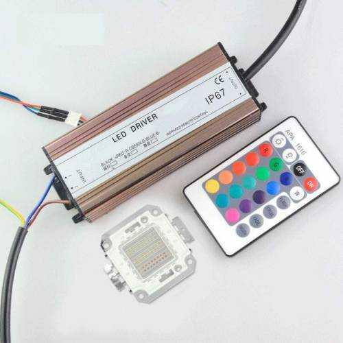 Driver para Foco LED RGB 50W