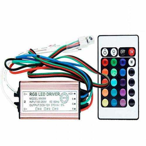 Driver para Foco LED RGB 10W