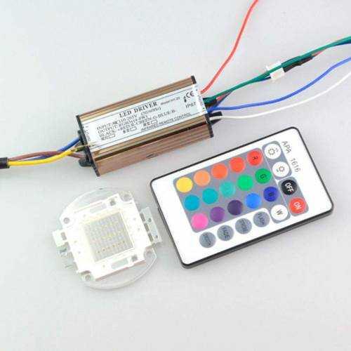 Driver para Foco LED RGB 20W