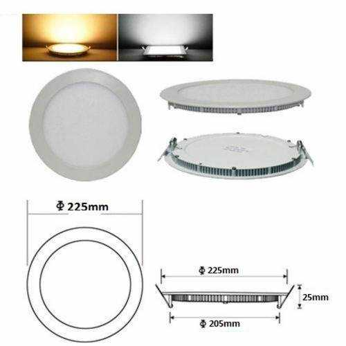 Downlight LED Panel 18W 230V