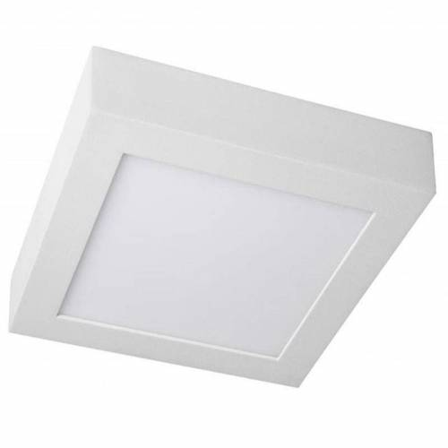 Plafón de superficie cuadrado LED 18W 230V