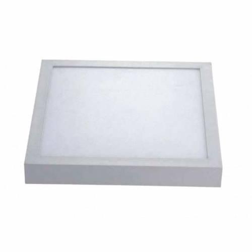 Plafón LED superficie Cuadrado 24W 230V