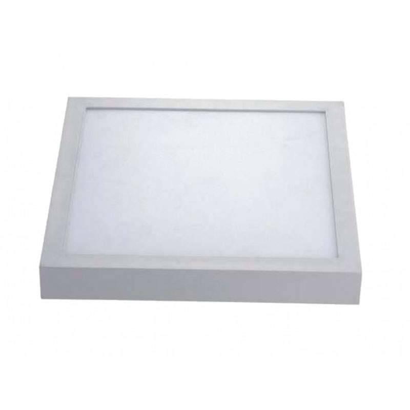 Plafón LED superficie Cuadrado 25W 230V