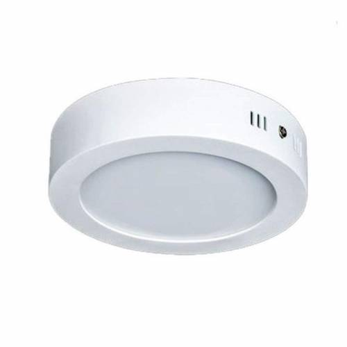 Plafón LED superficie Redondo 12W 230V