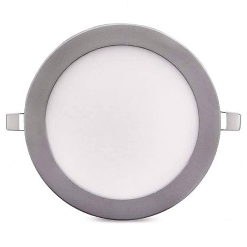 Downlight LED Panel 18W 12-24V PLATA