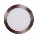 Downlight LED Panel 24W Niquel 12-24V