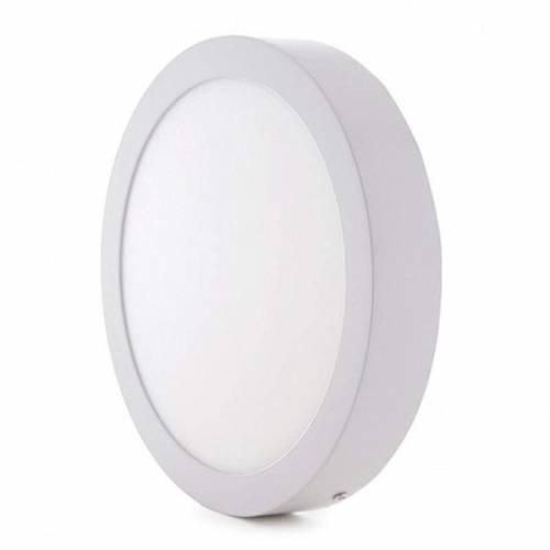Plafón LED superficie Redondo 18W 12-24V