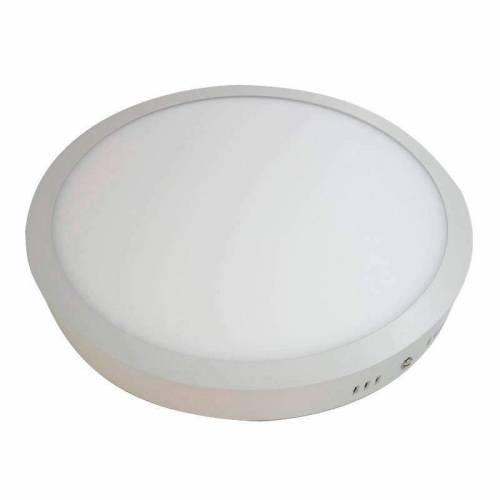 Plafón LED superficie Redondo 24W 12-24V