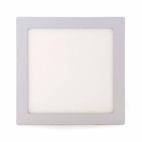 Plafón LED superficie Cuadrado 18W 12-24V