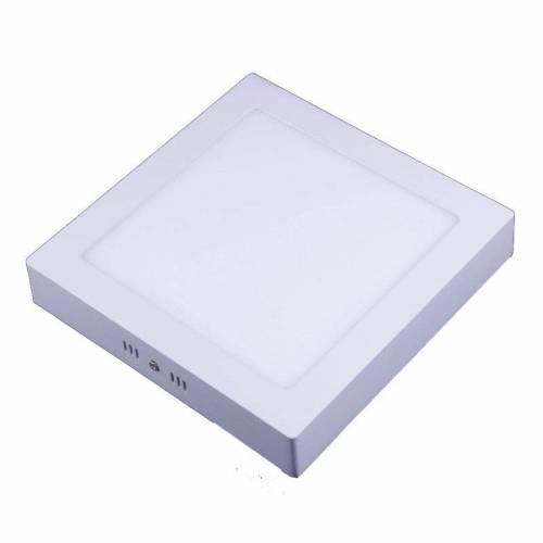 Plafón LED superficie Cuadrado 24W 12-24V