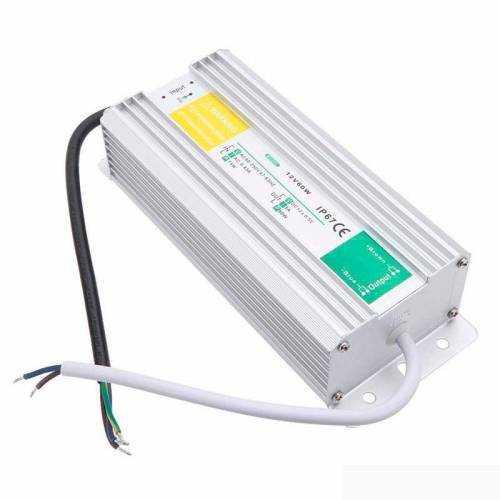 Fuente alimentación 60W 12V IP67