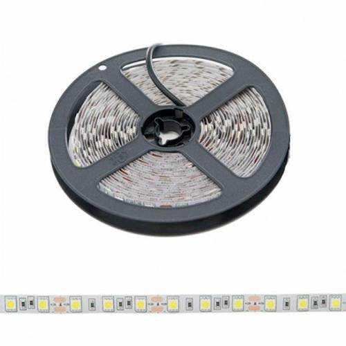Pack Tira LED SMD 5050 14,4 W/m 12V IP20 5m con Fuente de Alimentación