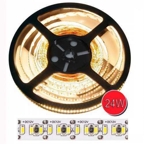 Tira LED SMD 3014 24 W/m 12V IP20 5m