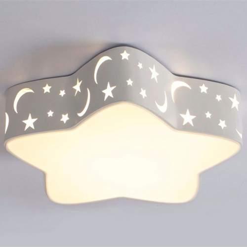 Plafón LED 24W Infantil Estrella Blanca