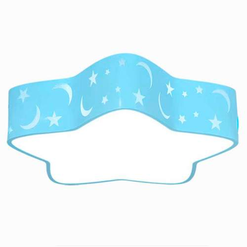 Plafón LED 24W Infantil Estrella Azul