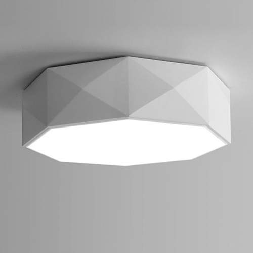 Plafón LED con diseño Hexagono 24W