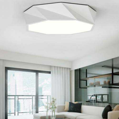 Plafón LED con diseño Trapezio 24W