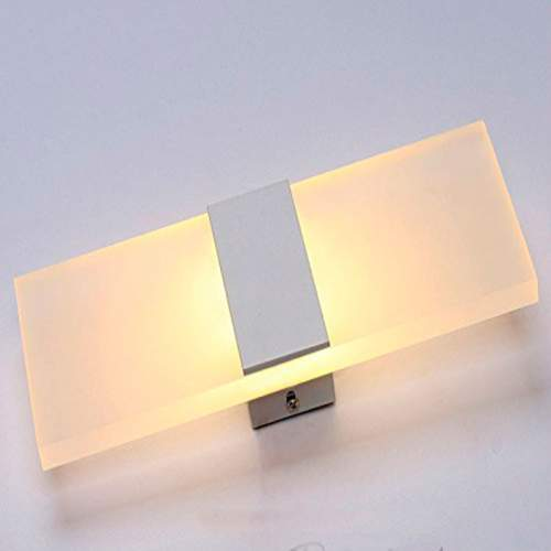 Aplique Pared LED 12W Acero Inox