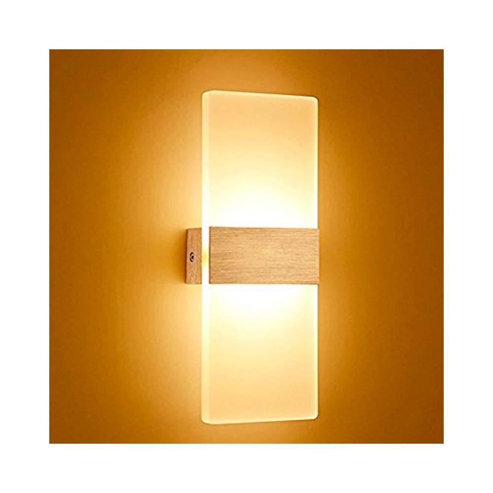 Aplique pared led 12w acero inox - Aplique pared led ...