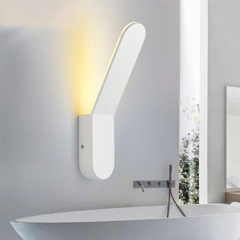 Aplique pared led 6w blanco sticker - Apliques pared led ...