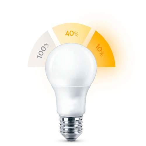 Bombilla E27 12W LED Regulable mediante Interruptor