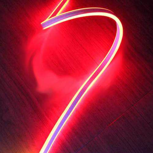 Tira LED Neon Flex Doble 2 caras 12W/m 230V ROJO