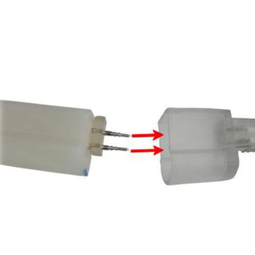 Conector enchufe tira LED Flex Neon