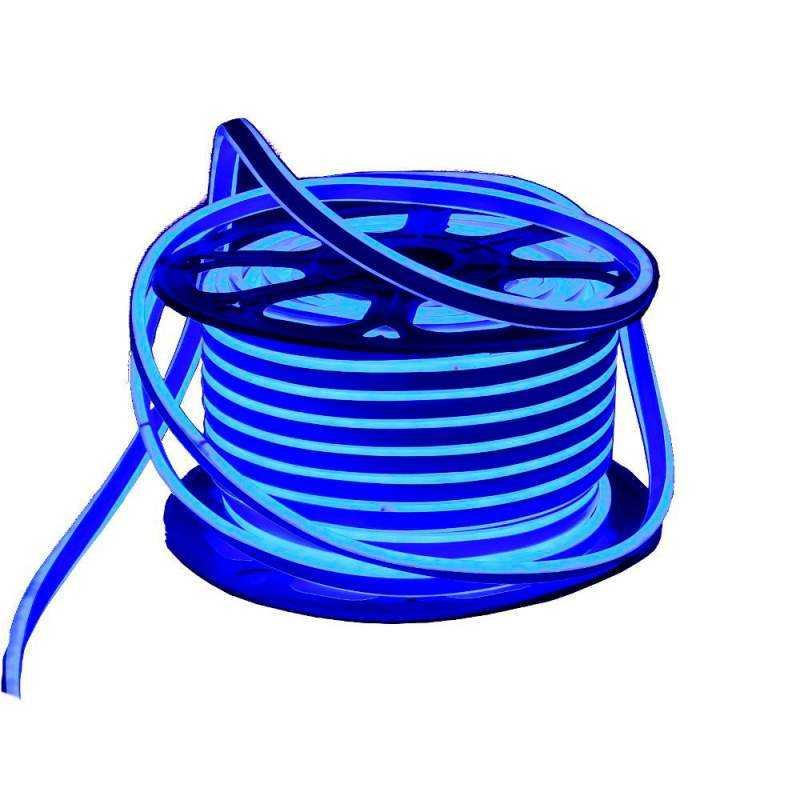 Bobina 25metros Tira LED Neon Flex Doble 2 caras 12W/m Blanco