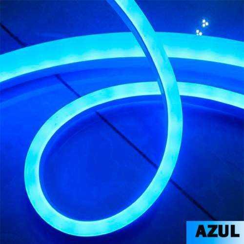 Tira LED Neon Flex 10 W/m 230V AZUL